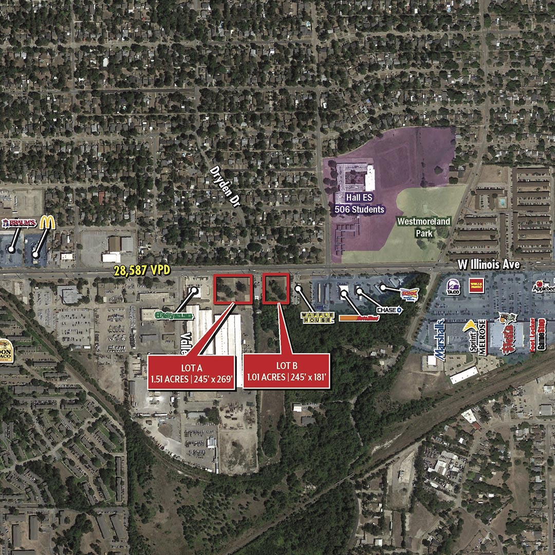 Illinois Avenue Retail Pads featured image