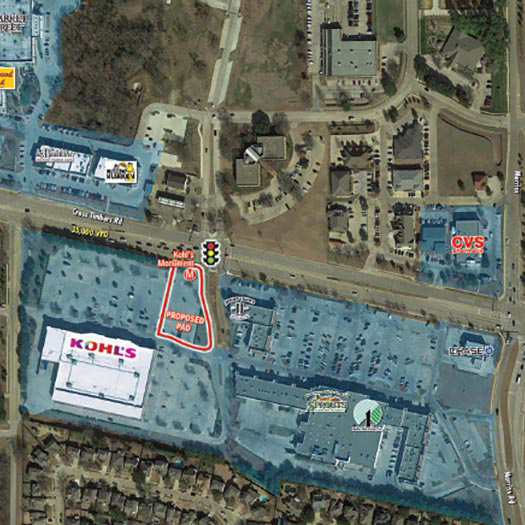 Kohl's Anchored Pad Site Flower Mound featured image