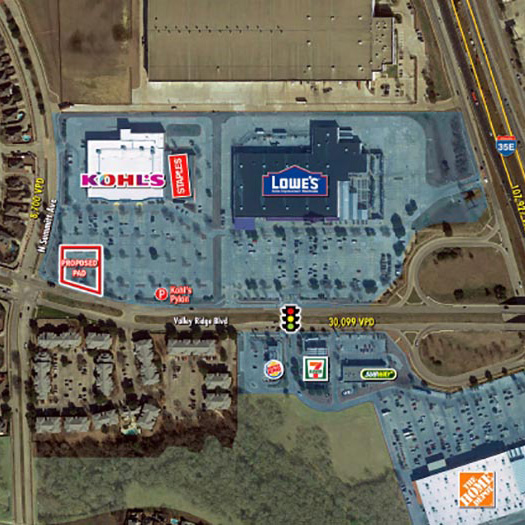 Kohl's Anchored Pad Site Lewisville featured image