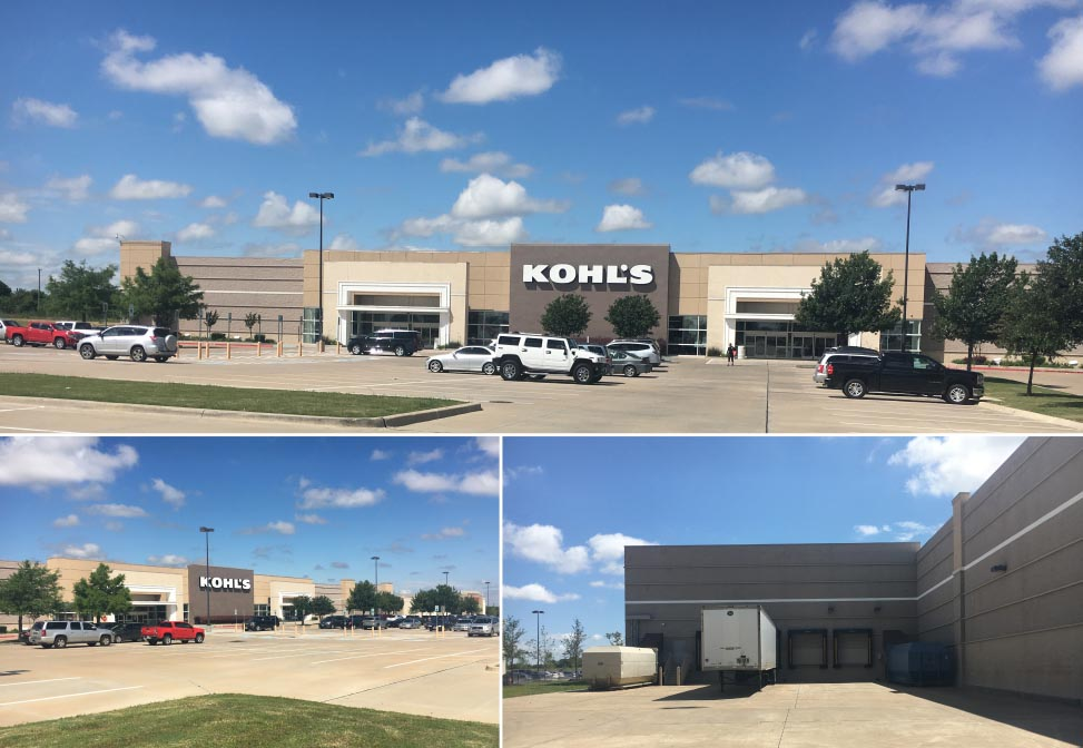 Kohl S Anchored Pad Site Mansfield The Retail Connection