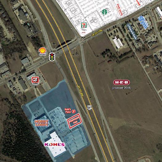Kohl's Anchored Pad Site Mansfield featured image
