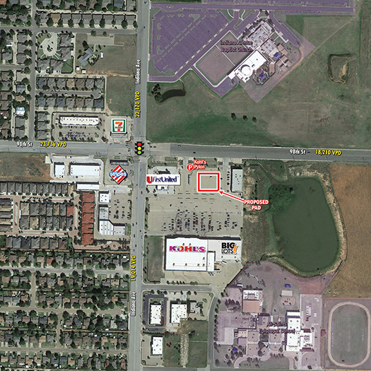 Kohl's Anchored Pad Site Lubbock featured image
