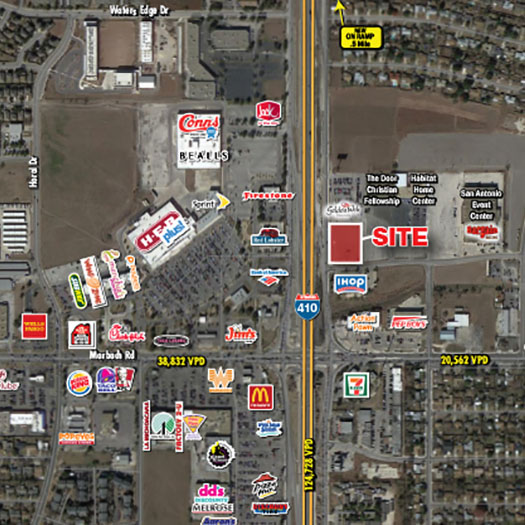 Loop 410 and Marbach [Pads and Retail] featured image