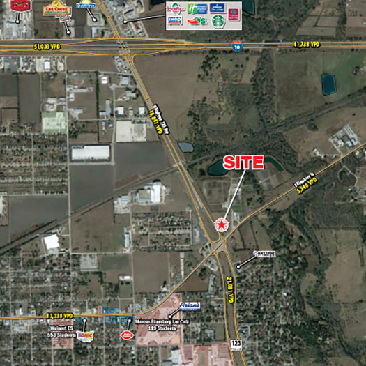 N Highway 123 Bypass and E Kingsbury Street [Development Site] featured image