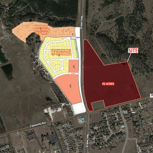 Georgetown Commercial Development Site 42 Acres featured image
