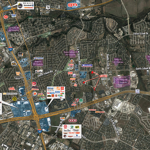 Round Rock Pad Sites featured image