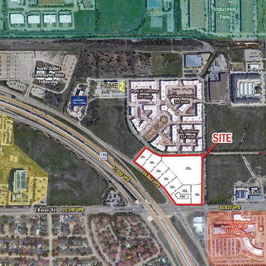 Renner Road and 190 [Shopping Center & Pad Sites Coming Soon] featured image