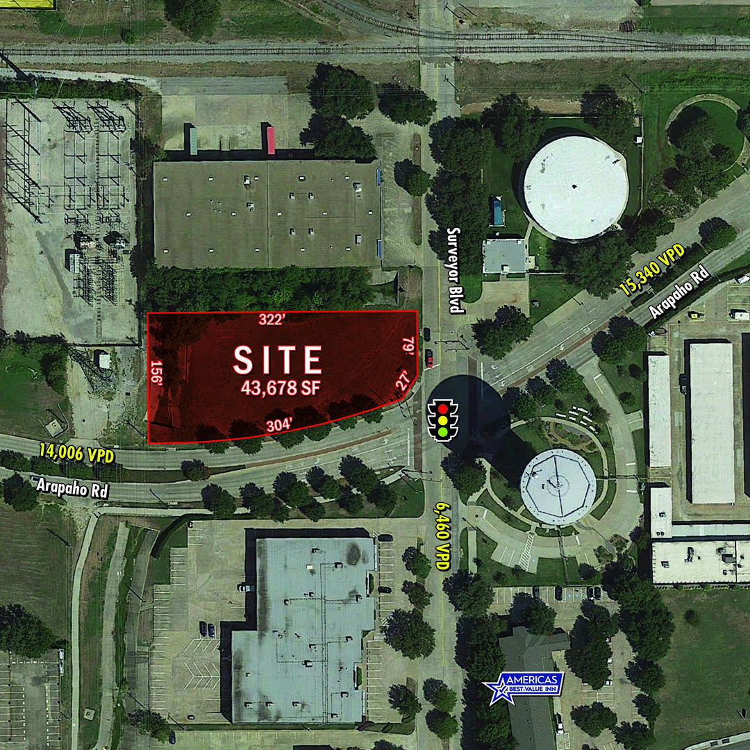 1.003 Acres For Sale or Ground Lease featured image