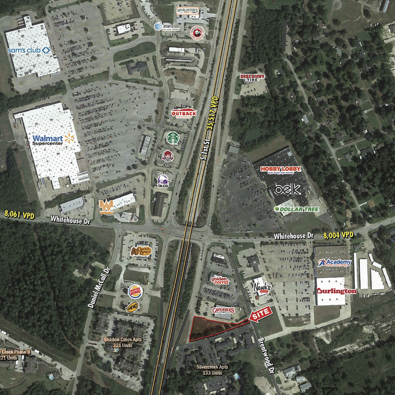 Land For Sale | Approximately 35,000 SF Next to Cavender's featured image
