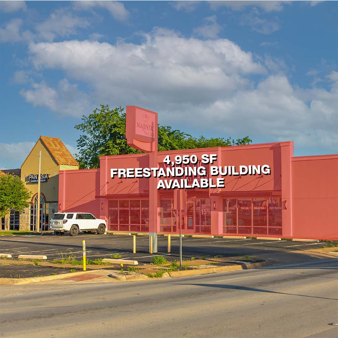 Freestanding Bldg. at Camp Bowie & Bryant Irvin featured image